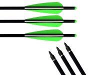 Fiberglass arrows5