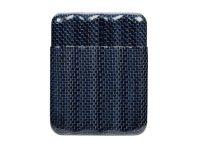 blue carbon fiber humidors
