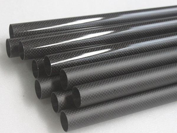 Round Carbon Fiber Tubes
