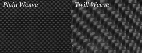 Carbon Fiber Weaves